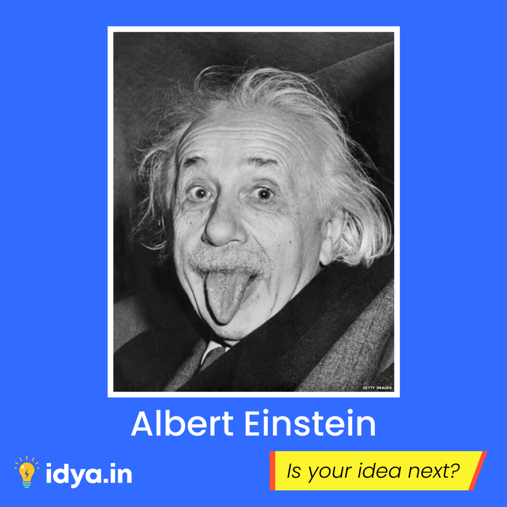 Einstein Theory of Relativity | Instagram Creative Idya | Design by Brijesh Tejani