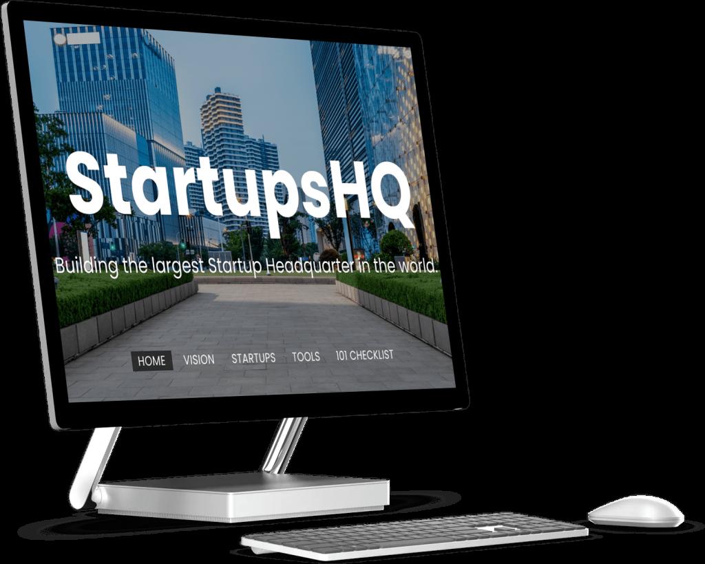 StartupsHQ | UI UX Design | Design Portfolio by Brijesh Tejani