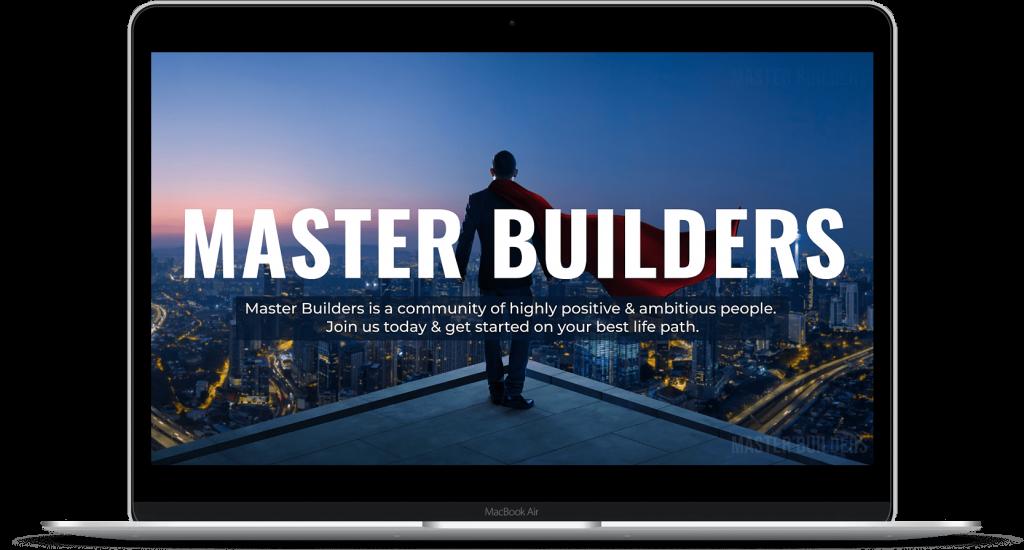 Master Builders | UI UX Design | Portfolio by Brijesh Tejani