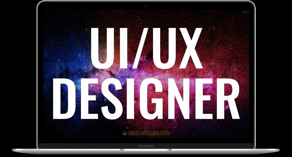 UI UX Designer | Brijesh Tejani